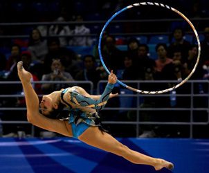 where there is rhythmic gymnastics :: rhythmic gymnastics wedgie
